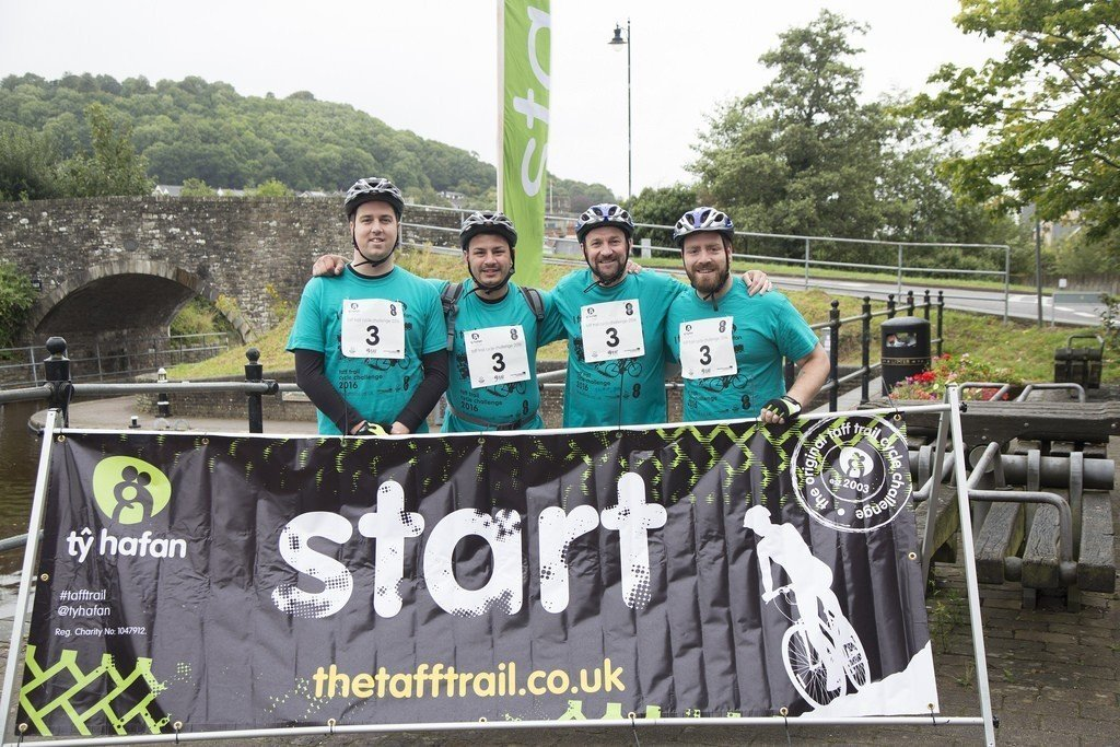 Ty Hafan Taff Trail Cycle Challenge 2016