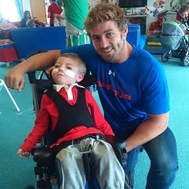 Callum and Leigh Halfpenny