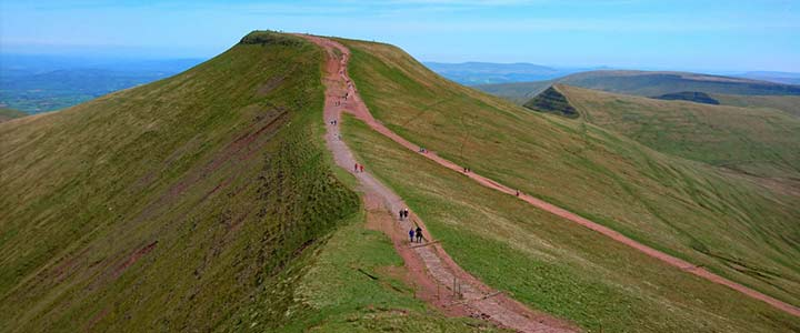 Pen y Fan Brecon Summer Stroll