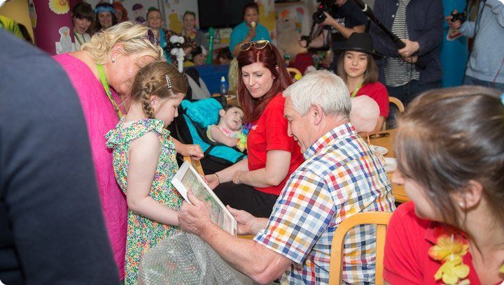 Children's Hospice Week party