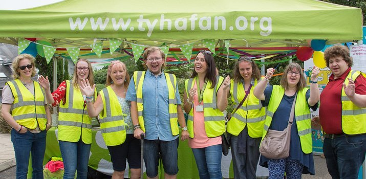 Volunteer for Ty Hafan